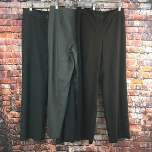 Chico's Lot of 3 Pants Size 0.5R Stretch